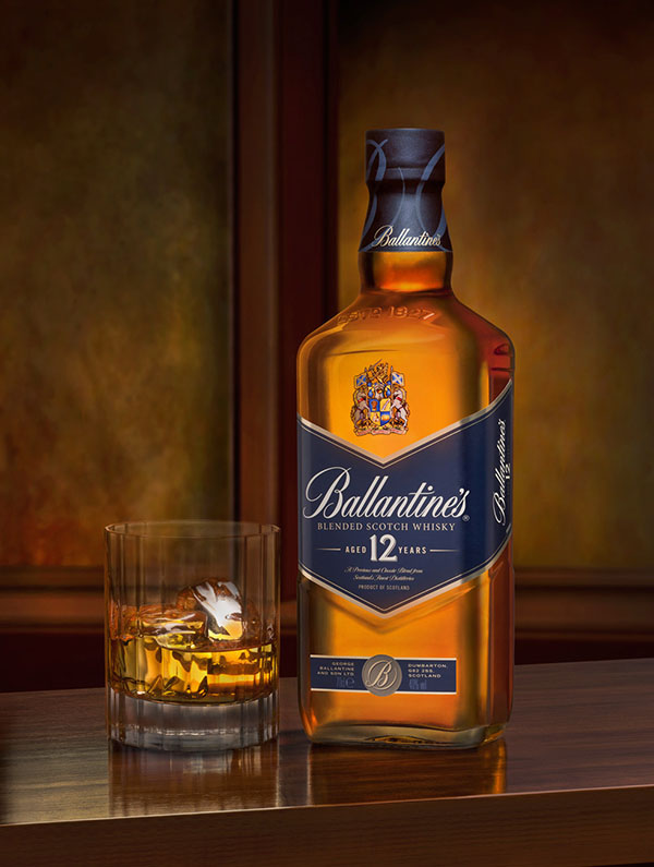 Ballantine's 12 with Ice