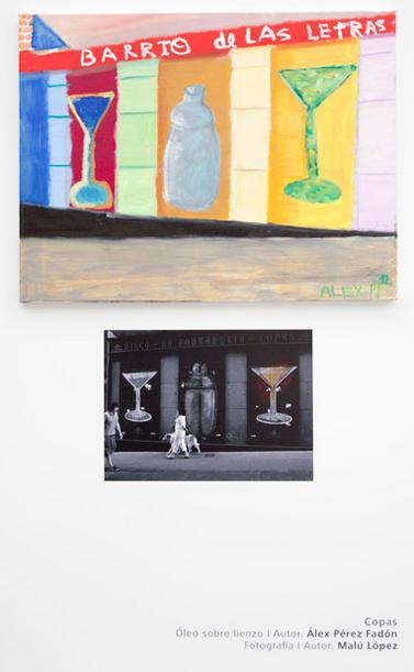 Expo Arte Down/Barrio de las Letras/madrid 2012/MaluLopez