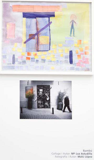 Expo Arte Down Barrio de las Letras/Madrid 2012/Malu Lopez