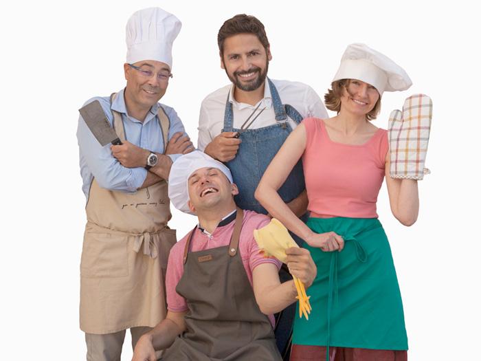 """Profesorado """"Cocinando el nuevo curso""""Fundacion Escuela Universitaria Relaciones Laborales A Coruña"""