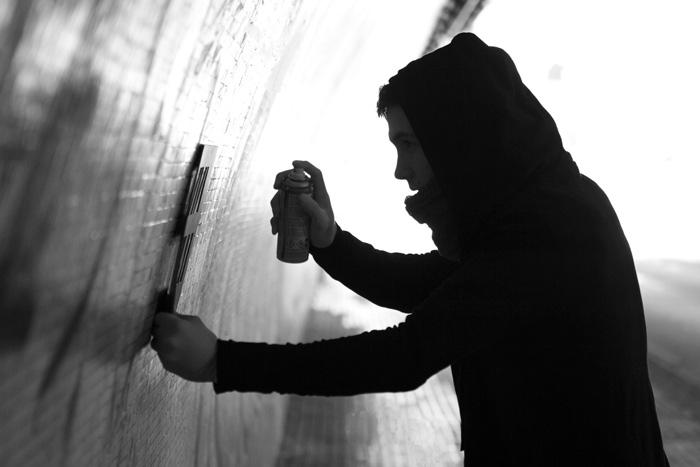 """Vídeo Promo Viva Erlac.""""Graffiti Tunel"""". Fundacion Escuela Universitaria Relaciones Laborales A Coruña. Malú López"""
